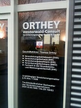 ORTHEY CONSULT - Firmengebäude - Eingang