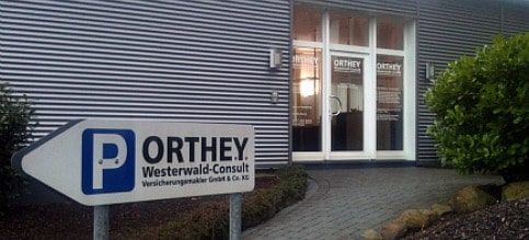 ORTHEY CONSULT - Firmengebäude - Front
