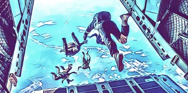 Extreme Sportarten Liste - Luftsport