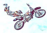 Motorrad fahren birgt immer Risiken